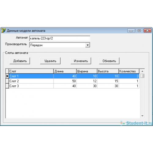 Готовая дипломная работа Разработка информационной системы   Разработка информационной системы обслуживания торговых автоматов delphi ms sql server дипломная работа