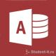 База данных Абитуриенты в Microsoft Access